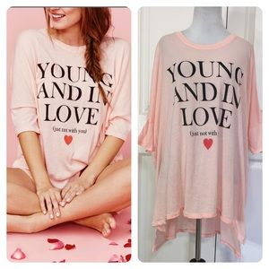 """NWT! Wildfox """"Not with You"""" t-shirt"""